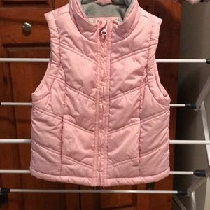 Girl puffy vest